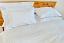 cotton sheet set white stripe