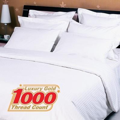 Double Size Luxury Cotton Quilt Cover 1000 TC