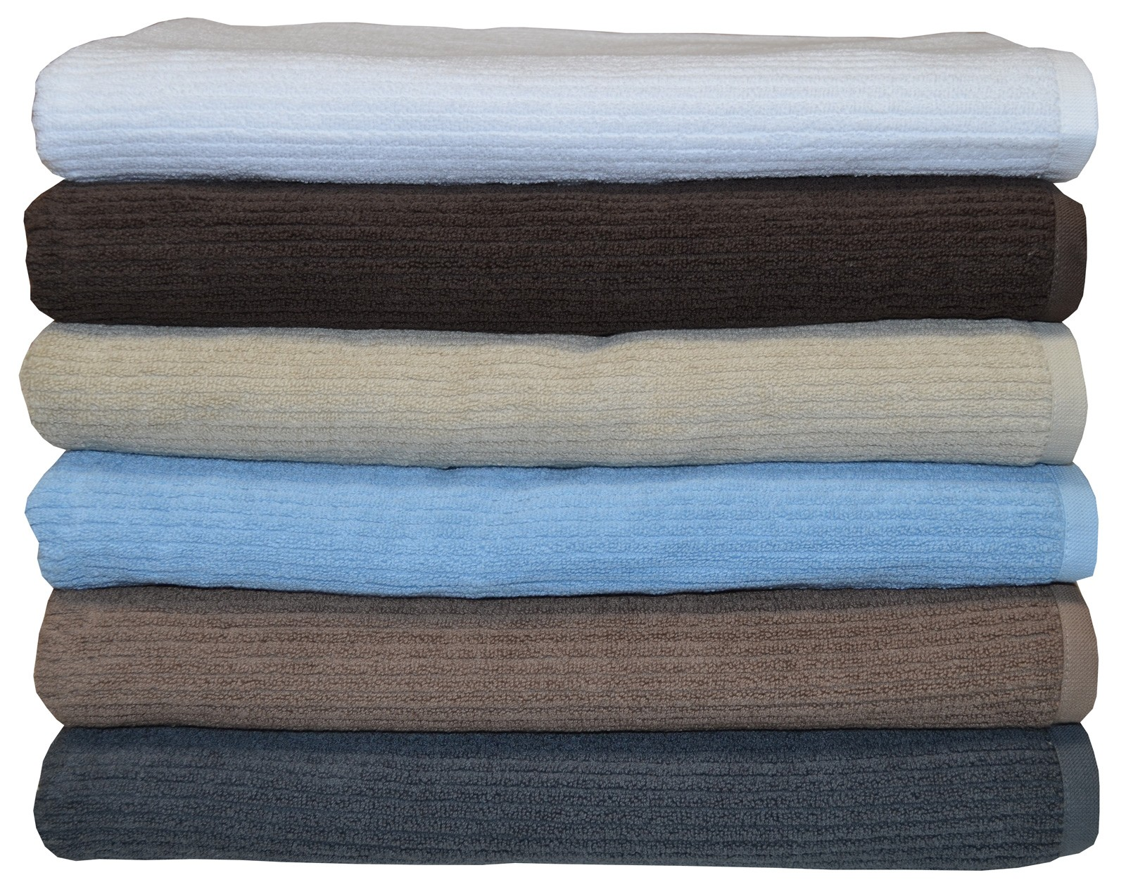 Egyptian Cotton Classic Ribbon Bath Sheet King Towel