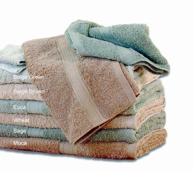 Soft Touch Natural Color Cotton Towels