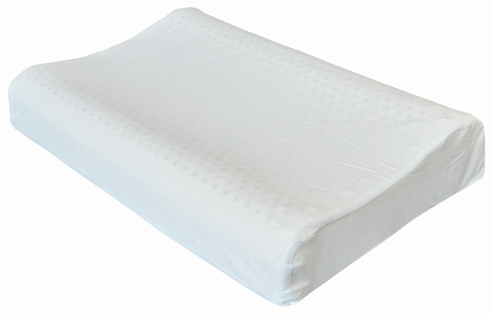 Therapeutically designed contoured latex pillows 60 x 40 10/12 cm