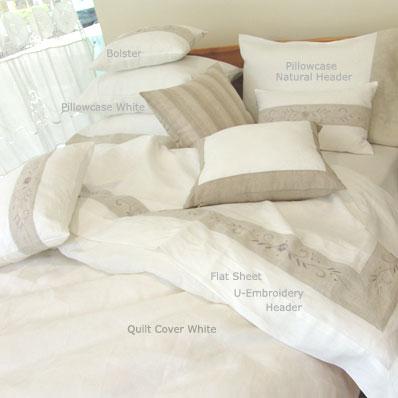 Pure Linen Queen Size Quilt Cover
