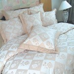 Natural Brown Rose Sheet Sets
