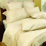 SilkCotton Quilt Cover Set - Moselle