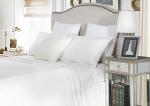 Luxury 1800TC Cotton Rich King Single Sheet Sets White