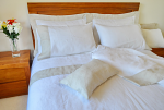 Pure Linen Sheets King Size, Natural Header