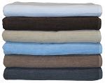 Egyptian Cotton Classic Ribbon Bath Sheet King Towel