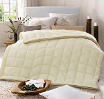 GOLDWOLKE Artificial Down Quilt Super King Size