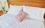 Double Bed Sheet Set, 12 Sets/Lot in a carton Superfine Percale Egyptian Cotton 380 TC