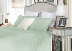 Luxury 1500TC Cotton Fitted Sheet Sets Cloud