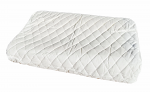 Latex Therapeutic Design Pillow Contoured Shape 60 x 40 x 10/12 cm, Bonus Pillow Protector Factory Second