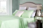 Cotton Rich Single Sheet Sets 250TC Percale Soft Mint