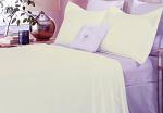 Luxury 1500TC Cotton Quilt Set Ivory